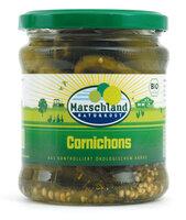 Cornichons 330ml-Glas Marschland
