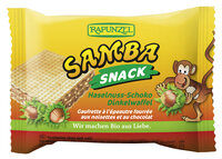 Samba - Haselnuss-Schoko-Schnitte 25g