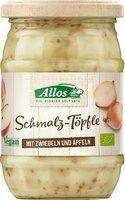 Schmalz-Töpfle m. Zwiebeln u. Äpfeln