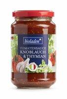 b* Tomatensauce Knoblauch-Thymian