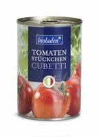 b* Cubetti Tomatenstücke