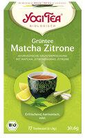 Yogi Tee Matcha Zitrone