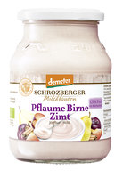 Winterjoghurt Pflaume-Birne-Zimt