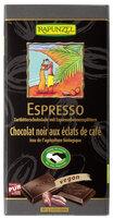 Zartbitterschoki m. Espressosplittern