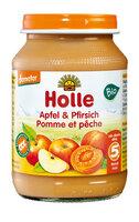 Babykost Pfirsich Apfel