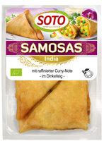 Samosas - indische Gemüse-Ecke