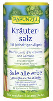 Kräutersalz i. d. Dose  125g  - Rapunzel