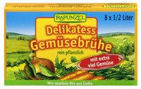 Gemüse-Brühwürfel Delikatess mit 14% Gemüse, mit Bio-Hefe