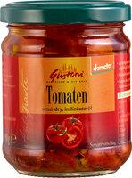 Tomaten, semi-dry, in Kräuteröl