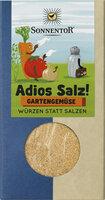 Adios Salz! Gemüsemischung Gartengemüse bio Packung