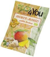 Bio-Bonbon-Ingwer-Mango, gefüllt