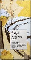 Weiße Mango Cocos Schokolade