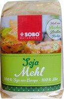 Soja-Mehl, vollfett, garantiert glutenfrei