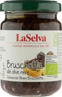 Schwarze Oliven Bruschetta - Zubereitung aus schwarzen Oliven