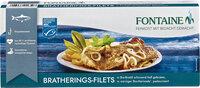 Bratherings-Filets in Bio-Marinade