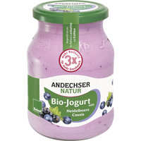 Fruchtjog. Heidelb.-Cassis 3,7% 500g AND