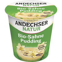 Sahne-Pudding Vanille 150g AND
