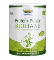 Bio-Hanf-Protein-Pulver
