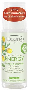ENERGY Deo Roll-on Lemon & Ingwer