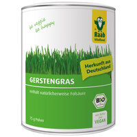 Bio Gerstengraspulver