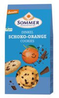 Dinkel Cookies-Schoko-Orange 150g SOM