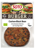 Cashew-Black Bean Burger 2x80g SOT