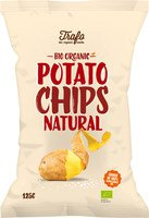 "Kartoffelchips: ""Natural"" 125g  Trafo"