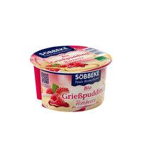 Grießpudding mit Himbeeren 150 g