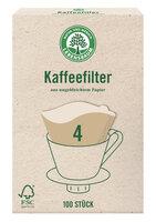 Kaffeefilter Papier Größe 4