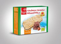 Sandwich Schoko Reiswaffel