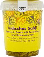 Sabji - Gemüse mit Cashew-Basmati-Reis
