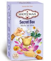 Secret Box - 5 Sonnengruß - 3 Peace - 12 Teebeutel