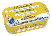 Makrelenfilets in Muscadet-Weisswein