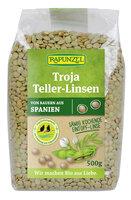 Troja Teller-Linsen (grün bis braun)