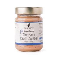 Brotaufstrich Cheesana Rauch-Zwiebel, Sanchon
