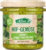 Hof-Gemüse Sabines Spinat Pinienkerne