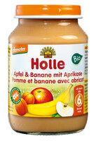 Apfel & Banane mit Aprikose