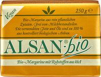 Alsan-Bio Bio-Margarine mit Rohstoffen aus kbA
