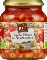 Weiße Bohnen in Tomatensoße