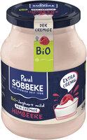 Bio Joghurt mild Himbeere, 7,5 % Fett