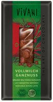 Vollmilch-Schokolade Ganze Nüsse