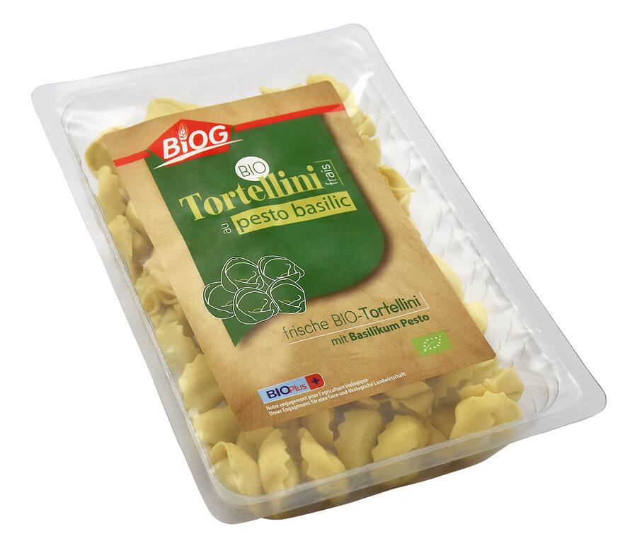 Tortellini frais au pesto basilic
