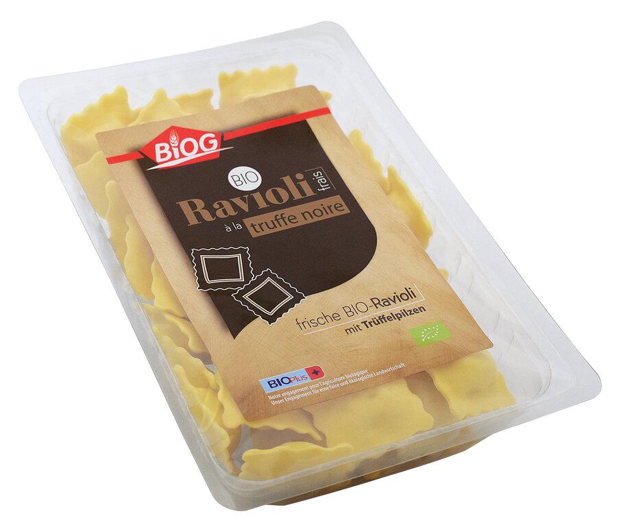 Ravioli frais à la truffe noire