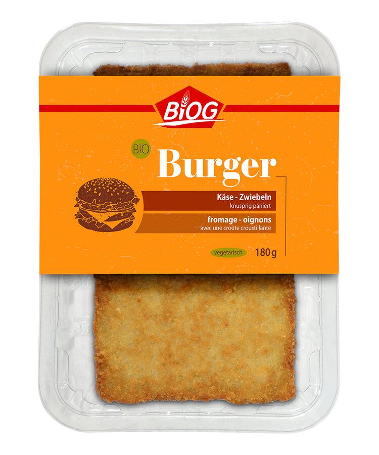 Burger Käse-Zwiebeln