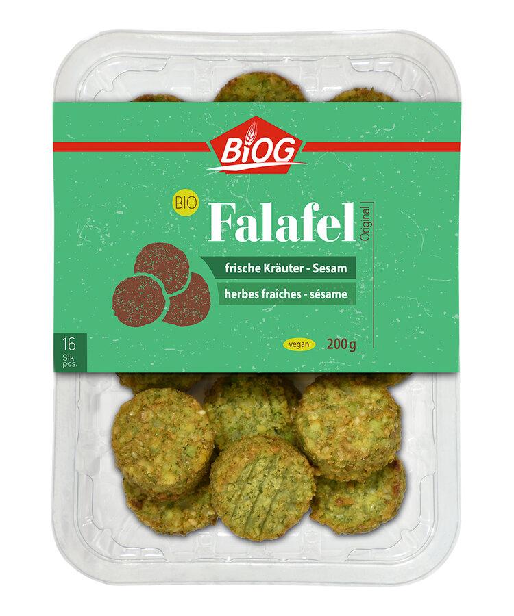 Falafel frische Kräuter-Sesam