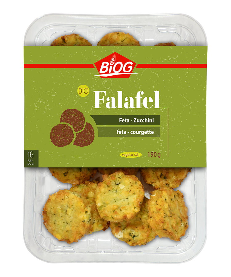 Falafel Feta-Zucchini