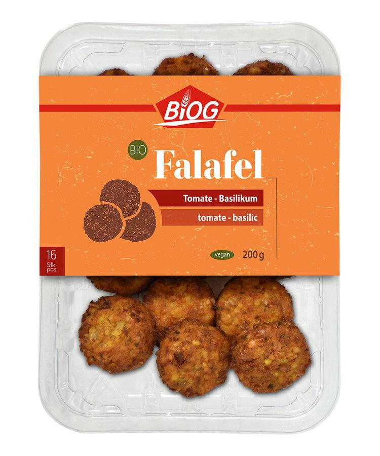 Falafel Tomate-Basilikum