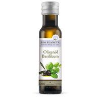 Würzöl Olivenöl mit Basilikum