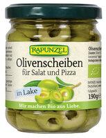 Olivenscheiben für Salat und Pizza