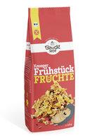Knusper Frühstück Früchte glutenfrei Bio